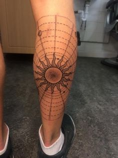 Solar System Jonny Breeze, Nine Tattoos, Brighton, UK