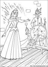 Princess Aurora / Sleeping Beauty Coloring Pages / Free Printable Coloring Pages for Kids - Coloring Books Coloring Book Art, Cool Coloring Pages, Adult Coloring Pages, Coloring Pages For Kids, Coloring Sheets, Disney Princess Coloring Pages, Disney Princess Colors, Disney Colors, Princess Aurora