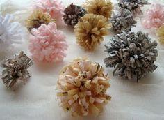DIY: gratis bloemen - Pinterested @ http://wedspiration.com.
