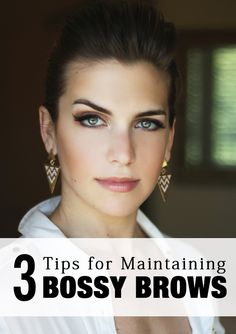 The perfect eye brows will totally change your appearance!