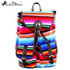 b94c6b1889 Serape Backpack by Montana West. Shoulder Bags ...