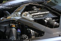 #Cars #SWengines Aston Martin One-77.You will find a 7.3 liter V12 engine under the hood of an Aston Martin One-77.