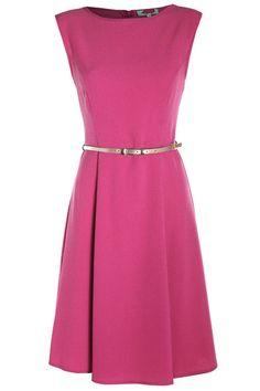 Sukienki rozkloszowane z paskiem 89,69 zł http://www.aoutlet.pl