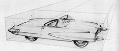 Henry Gurr's book played an important role in my interest in car design. Gm Car, Car Illustration, Automotive Design, Concept Cars, Automobile, Garage, Dean, Nuevas Ideas, Proposals