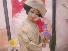 Close up of doll.