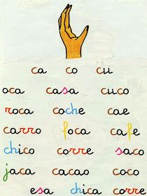 Los duendes y hadas de Ludi: Micho 1 método de lectura Spanish Words, Phonics, Teaching, Education, Math, Handwriting, Lego, English, Texts