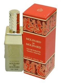 Molinard de Molinard by Molinard is an aromatic, green, woody Floral Fruity fragrance with black currant, dried fruit notes, green notes, asafoetida, lemon, bergamot and cassis in the top. Jasmine, ylang-ylang, lily-of-the-valley, rose and narcissus in the middle. Labdanum, amber, musk, vetiver, incense and patchouli in the base. - Fragrantica