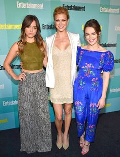 EW Party at Comic-Con 2015: Red Carpet Arrivals | Chloe Bennet, Adrianne Palicki, Elizabeth Henstridge | EW.com