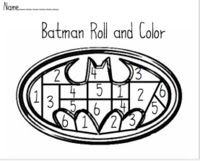 Roll and color cover trace on pinterest dice dice games and