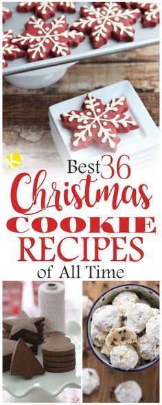 Best+36+Christmas+Cookie+Recipes+of+All+Time