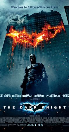 When the menace known as the Joker emerges from his mysterious past he wreaks havoc and chaos on the people of Gotham the Dark Knight must accept one of the greatest psychological and physical tests of his ability to fight injustice.