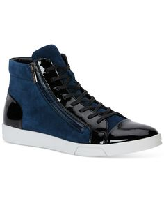 ff235cfd03fc Calvin Klein Berke Oily Suede Sneakers Men - All Men s Shoes - Macy s