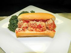 Meatball Sandwich :  A Chicago favorite, the meatball sandwich will be served on an Italian roll with marinara sauce and parmesan cheese in sections 121 and 522.