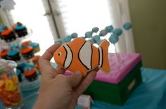 Nemo cookies - Cute party favor ideas