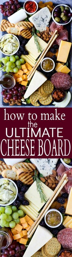 Appetizers easy cheese appetizer recipes 43 Ideas for 2019 Appetizer Dishes, Easy Appetizer Recipes, Yummy Appetizers, Appetizers For Party, Cheese Appetizers, Appetizer Ideas, Yummy Snacks, Cheese Platters, Food Platters
