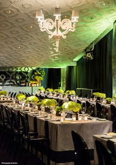 Tie The Knot With Oliver & Bonacini Events and Catering - WedLuxe Magazine Green Wedding, Chic Wedding, Luxury Wedding, Wedding Reception, Reception Ideas, Wedding Stuff, Green Colour Palette, Green Colors, Different Shades Of Green