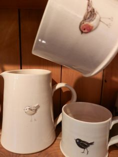 Favourites from Jane Hogben x #pottery #handmade #birds