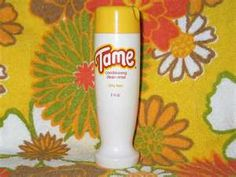 """The first """"creme rinse"""" (conditioner) I ever used."""