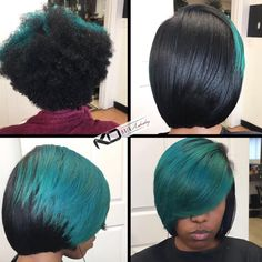 So dope via @kohairartistry  Read the article here - http://blackhairinformation.com/hairstyle-gallery/dope-via-kohairartistry/
