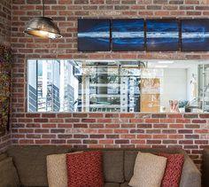 LEMAYMICHAUD   INTERIOR DESIGN   ARCHITECTURE   QUEBEC   Mamie Clafoutis   Restaurant   Bakery Flat Screen, Restaurant, Architecture, Design, Blood Plasma, Arquitetura, Diner Restaurant, Flatscreen