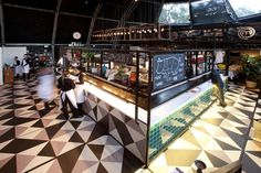 MasterChef Dining and Bar pop up restaurant by AZBcreative, Australia hotels and restaurants