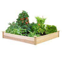 Raised Bed Soil Walmart Com Cedar Raised Garden Beds Garden