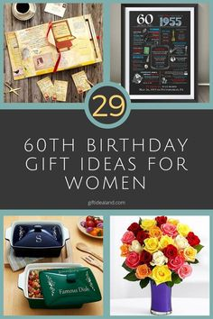 Colorful 11 Delightful Gift Ideas For 60th Birthday Female Images Snapshots 60Th