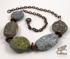 organic-nuggets-necklace | by Tammy Adams of Paisley Lizard