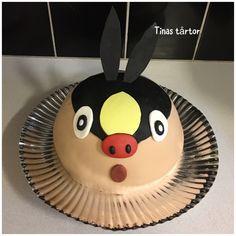 Tepig cake #tepig #tepigcake #pokemon #pokemoncake #cake #minnyahobby  #hobby #diy #hembakat #homebaked #tårta #torta #pastel