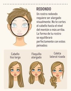 Pin by jahel apaza almendras on cortes de cabello hair styles, curly hair s Trendy Haircuts, Haircuts With Bangs, Round Face Haircuts, Hairstyles For Round Faces, Face Shape Hairstyles, Cool Hairstyles, Medium Hairstyles, Wedding Hairstyles, Circle Face