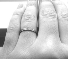 Stacking Rings Sterling Silver Stacking Ring by GirlBurkeStudios, $14.00