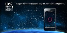 How to help with light pollution from the comfort of your own phone! Light Pollution, App, Science Projects, Tourism, Phone, Ideas, Research Projects, Night, Knowledge