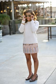 How to style a sweater two ways