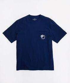Shop Woodblock Sailfish Pocket T-Shirt at vineyard vines