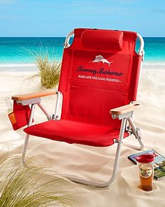 Relax on the beach in Tommy Bahama's one of a kind beach chair that offers maximum comfort and distinct style. Shop for the world's best beach chair.