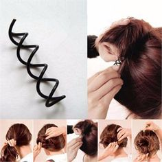 2PC Pre-owned Used women/'s hair accessories hair ring