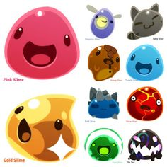 Slime Slime Rancher All Types | Slime Rancher Fan-club Community - Community - Google+
