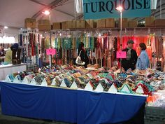 Sensory Overload! That's the Tuscon Gem and Mineral Show