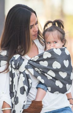 TULA Baby Carriers | Toddler Carriers — Tula Love Wrap Conversion Ring Sling - Noir