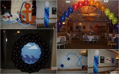 cruise ship themed centerpieces | Cruise ship party time!