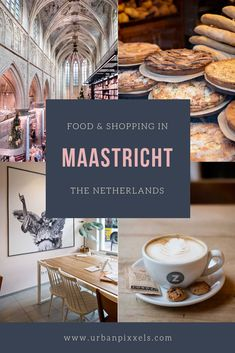 Maastricht in the Netherlands is super charming, but also a great city for shopping and eating - 15 Amazing Food & Shopping Hotspots in Maastricht