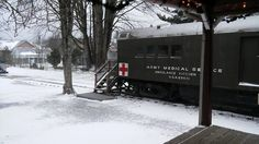 A popular car during Santa Train - this is where hot cocoa and cookies baked in coal-fired stoves are served!