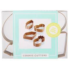 LTD Metal Cookie Cutter - Set of 4 | Target Australia