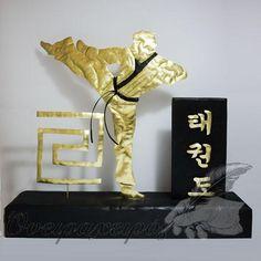 Δώρο για σχολή Tae kwon do - Ειδική παραγγελία Bookends, Life, Decor, Decoration, Decorating, Deco