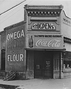 by Walker Evans, Store in Marion, Alabama, Aug. 1936