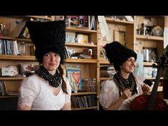 DakhaBrakha on NPR's Tiny Desk.   Their an amazing Ukranian quartet with the most distinctive and fun sound.