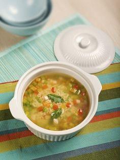 Куриный суп c овощами