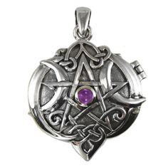 Beautiful Pentagram Locket