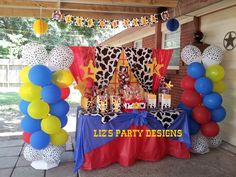 """Photo 8 of 28: Toy Story Woody and Jessie / Birthday """"Leo and Kayla's Round Up"""" 