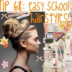 Easy Pretty Hairstyles For School Pictures 1 - Free Download Easy Pretty Hairstyles For School Pictures 1 #5288 With Resolution 546x546 Pixel | KookHair.com